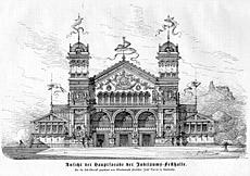 Festhalle 1886